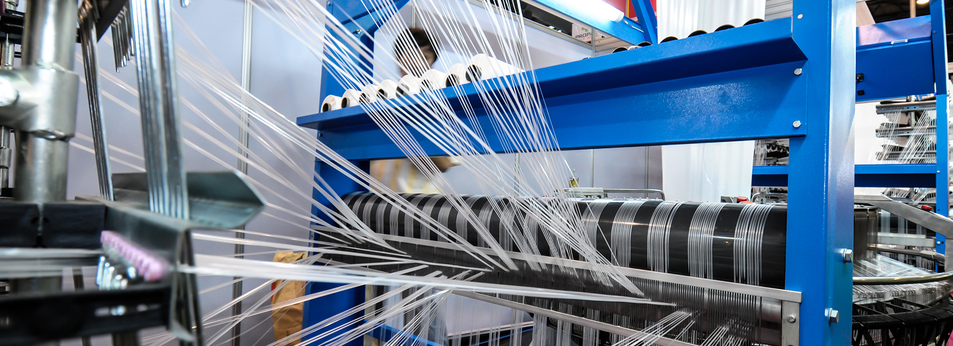 Textile processing yielding yarns